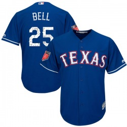Buddy Bell Texas Rangers Youth Authentic Majestic Cool Base 2018 Spring Training Jersey - Royal