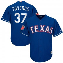 Leody Taveras Texas Rangers Youth Replica Majestic Cool Base 2018 Spring Training Jersey - Royal